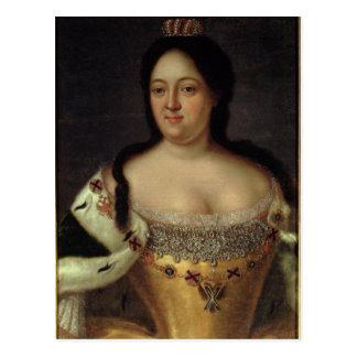 Portrait of Empress Anna Ioannovna Postcard