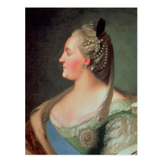 Portrait of Empress Catherine II the Great Postcard