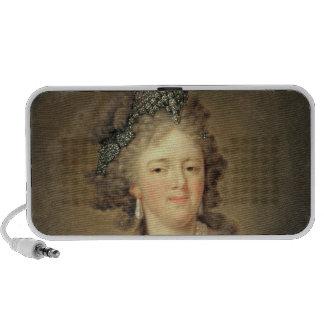 Portrait of Empress Maria Fyodorovna Laptop Speaker