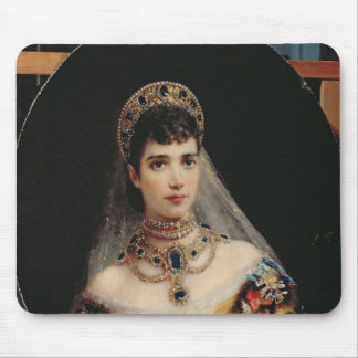 Portrait of Empress Maria Fyodorovna Mouse Pads