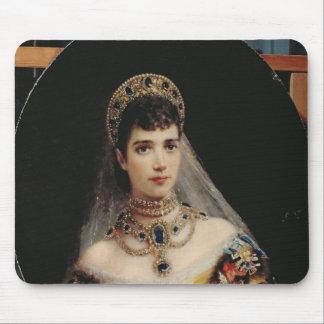 Portrait of Empress Maria Fyodorovna Mouse Pad