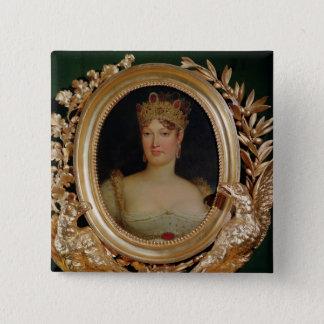 Portrait of Empress Marie-Louise  of Austria 15 Cm Square Badge