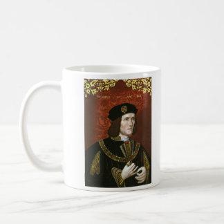 Portrait of English King Richard III Basic White Mug