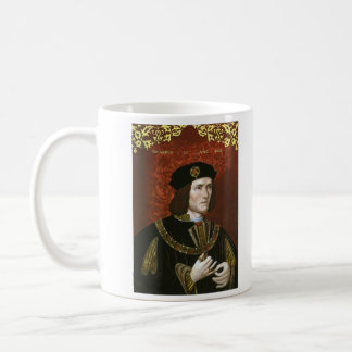 Portrait of English King Richard III Coffee Mug