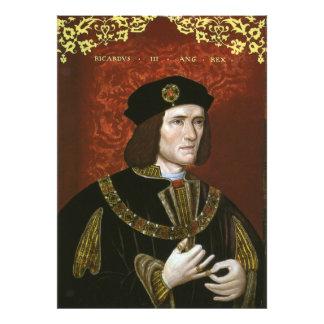 Portrait of English King Richard III Photo