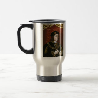 Portrait of English King Richard III Travel Mug