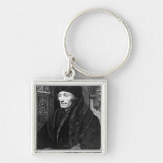 Portrait of Erasmus Keychain