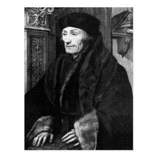 Portrait of Erasmus Postcard