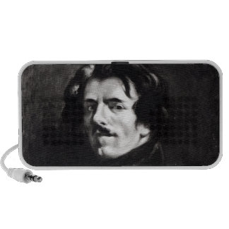 Portrait of Eugene Delacroix Portable Speaker