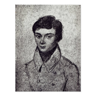 Portrait of Evariste Galois Poster