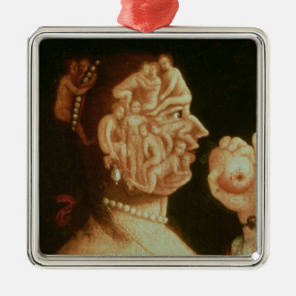 Portrait of Eve (oil) Christmas Ornament