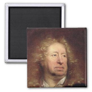 Portrait of Everhard Jabach Square Magnet