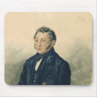 Portrait of Faddey Venediktovich Bulgarin, c.1840 Mouse Pad