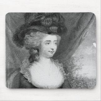Portrait of Fanny Burney   pub. by Henry Mouse Mat