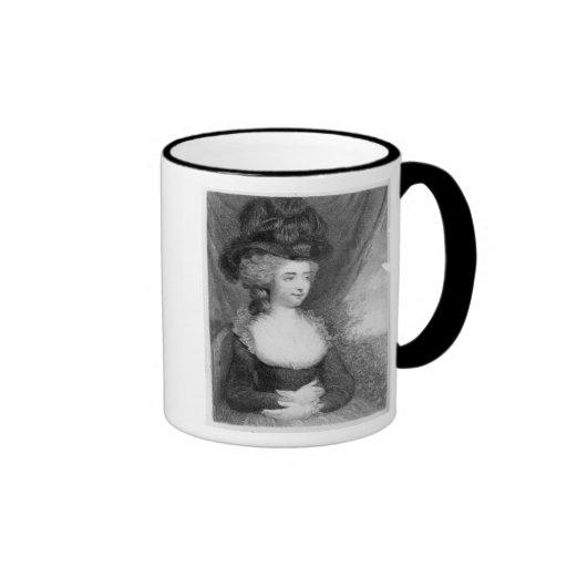 Portrait of Fanny Burney   pub. by Henry Mugs
