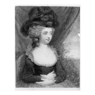 Portrait of Fanny Burney   pub. by Henry Postcard