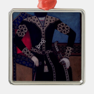 Portrait of Fath-Ali, Shah of Iran , Christmas Ornament