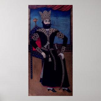 Portrait of Fath-Ali, Shah of Iran , Poster