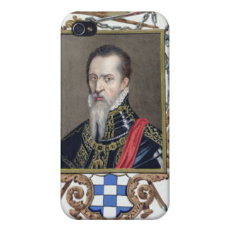 Portrait of Ferdinand Alvarez de Toledo Duke of Al Covers For iPhone 4