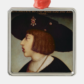 Portrait of Ferdinand I, Holy Roman Emperor Christmas Ornament