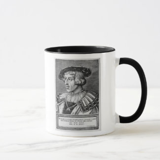 Portrait of Ferdinand I of Habsburg, 1531 Mug