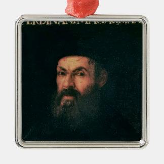 Portrait of Ferdinand Magellan Christmas Ornament