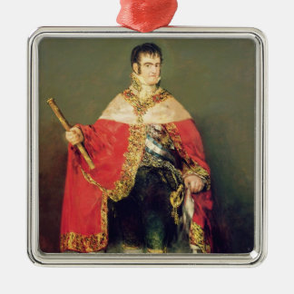 Portrait of Ferdinand VII  1814 Christmas Ornament