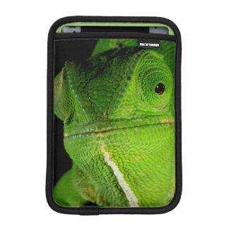 Portrait Of Flap-Necked Chameleon iPad Mini Sleeve