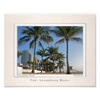 Portrait of Fort Lauderdale Beach Photograph