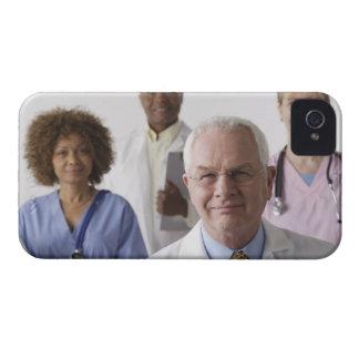 Portrait of four medical professionals, studio iPhone 4 Case-Mate case