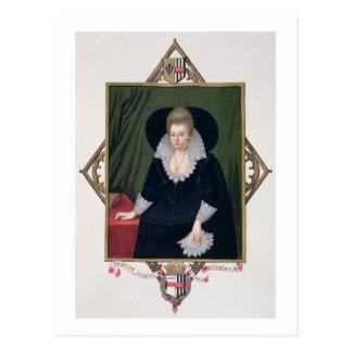 Portrait of Frances Walsingham, Countess of Essex Postcard