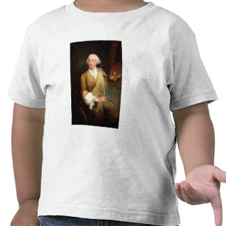 Portrait of Francesco Guardi (1712-93) (oil on can Shirt