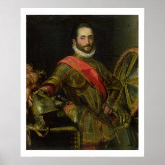 Portrait of Francesco II della Rovere, c.1572 (oil Poster