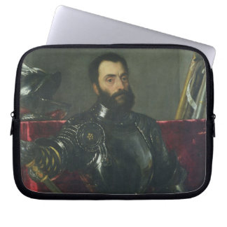 Portrait of Francesco Maria Della Rovere, Duke of Laptop Sleeve