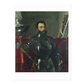 Portrait of Francesco Maria Della Rovere, Duke of Postcard
