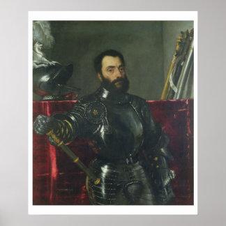Portrait of Francesco Maria Della Rovere, Duke of Poster