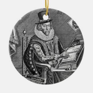 Portrait of Francis Bacon (1561-1626) Viscount of Christmas Ornament