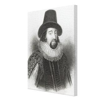 Portrait of Francis Bacon Canvas Print