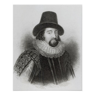 Portrait of Francis Bacon Poster