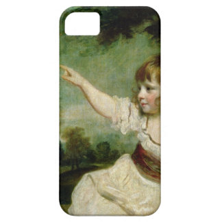 Portrait of Francis George Hare, oldest son of Fra iPhone 5 Case