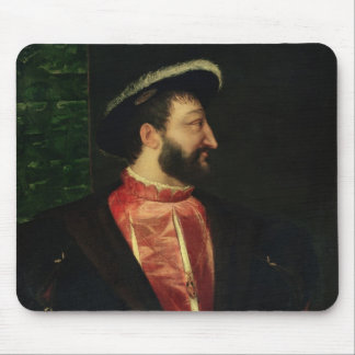Portrait of Francis I  1538 Mouse Pad