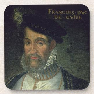 Portrait of Francois, 2nd Duke Guise (1519-63) Fre Drink Coasters