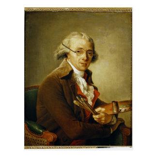 Portrait of Francois-Andre Vincent Postcard