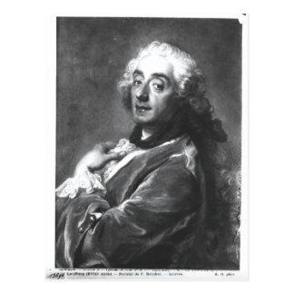 Portrait of Francois Boucher  1741 Postcard