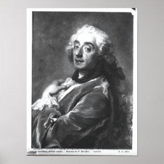 Portrait of Francois Boucher  1741 Poster