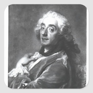 Portrait of Francois Boucher  1741 Square Sticker