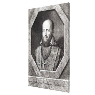 Portrait of Francois de Sales Canvas Print