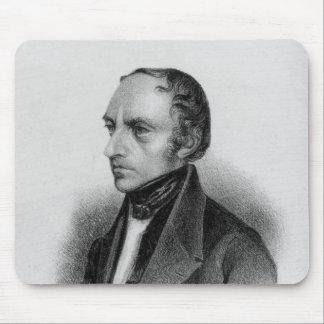 Portrait of Francois Guizot Mouse Pads