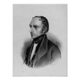 Portrait of Francois Guizot Poster