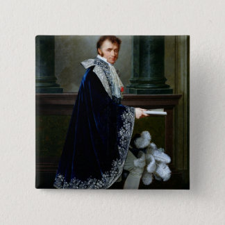 Portrait of Francois-Nicolas Mollien  1806 15 Cm Square Badge